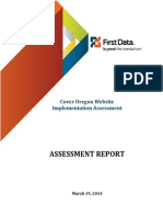 Cover Oregon Assessment
