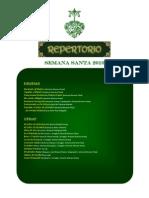 Repertorio 2010