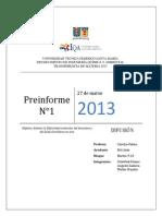 Pre Informe 1