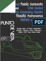 33172582 PUNTO de VISTA Revista de Cultura 69 Abril 2001