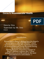 Cocoa & Neurovascular Health