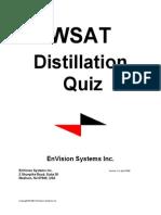 Distillation Questions