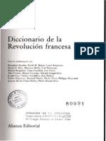 Ozouf, Mona y Furet, François_Diccionario de la Revolución Francesa