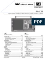 Grundig Satellit 700 Multi Band Radio Service Manual