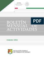 Boletín Febrero 2014