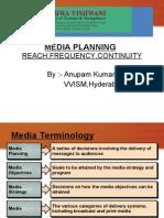 Media Planning in Imc