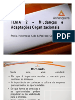 A1 Videoaula Online ADM1 Comportamento Organizacional Tema 2