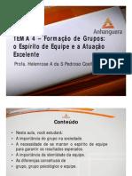 A1 Videoaula Online ADM1 Comportamento Organizacional Tema 4