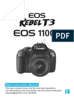 Eos Rebel t3