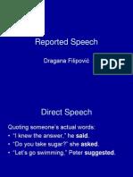 Reported Speech 1