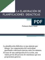 972625390.GUÍA PARA LA ELABORACIÓN DE PLANIFICACIONES  DIDÁCTICAS