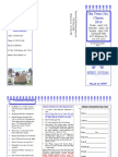 Tournament Flyer and Registration Form