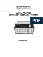 Manual Generador HP 33120A