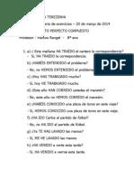 CORREÇÃO DA BATERIA DE EXERCÍCIOS 1 - 8º ANO %2820.03.2014%29