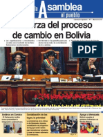 Periódico mensual de la Cámara de Diputados de Bolivia - Marzo de 2014