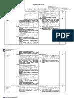 Planificación Anual 4º medio 2014
