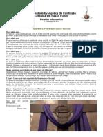 Boletim Eletrônico Comunidade Passo Fundo março 2014