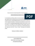 CONVOCATORIA DE PRENSA Nº 08-2014 I JORNADA DE LIMPIEZA RÍO TORATA