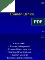 EXAMEN CLINICO
