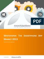 Whitepaper Smartphone App Market 2013