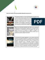 CatálogoDocumentalesMCY2014