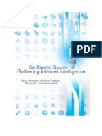 Go Beyond Google Gathering Internet Intelligence Final (eBook)