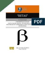 Betas Empresa Mercado