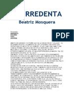 Beatriz Mosquera La Irredenta