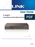 TL-R480T V4.0 User Guide