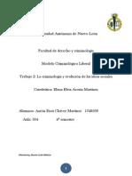 Modelo Liberal - Tema 2 La Criminologia y Evolucion de Las Ideas Sociales.