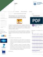 Programa de Cooperación Interuniversitaria PCI-AECID