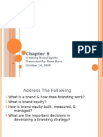 Chapter 9ppt creating brand equity