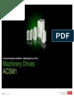 Machinery Drives ACSM1
