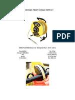Especificaciones y características del medidor de profundidad Dipper-T
