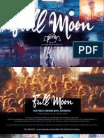 Full Moon x Perrier 2014 Partnership Proposal