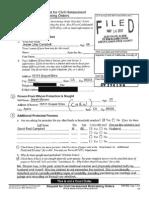 Sarah Slocum Restraining orders, related documents