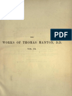 The Complete Works of Thomas Manton, D.D. Vol 9