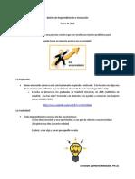 Boletín de Emprendimiento e Innovación Enero 2014