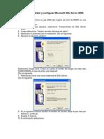 Instalar y Configurar SQL Server 2000