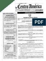 ACUERDO GUBERNATIVO NÚMERO 213-2013, REGLAMENTO DEL LIBRO I DEL DECRETO NÚMERO 10-2012.