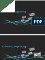 10 Dynamic Programming