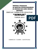 Proposal Pengajuan Dana Pbbdg 2014