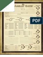 Documentación - Hoja de Personaje