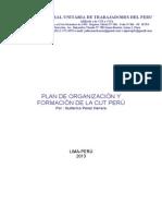 PLAN DE ORGANIZACIÓN Y CAPACITACIÓN DE LA CUT PERÚ