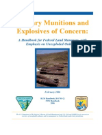Military Munitions and Explosives of Concern: