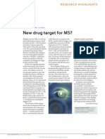 New Drug Target for MS