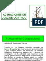 Esquemas Sobre Actuacion Juez Control. c.pp. Edo Mex.