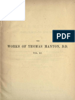 The Complete Works of Thomas Manton, D.D. Vol 11