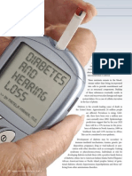 Diabetes and Hearing Loss (Pamela Parker MD)
