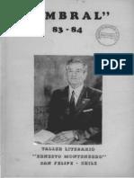 Revista Umbral 1983-1984. San Felipe